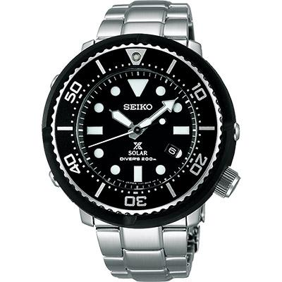 SEIKO 精工 Prospex SCUBA 鮪魚罐頭太陽能限量腕錶(SBDN021J)
