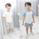 baby童衣 條紋運動休閒短褲 60029
