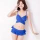 天使霓裳 海洋風範 二件式泳衣比基尼(藍M~XL) product thumbnail 1