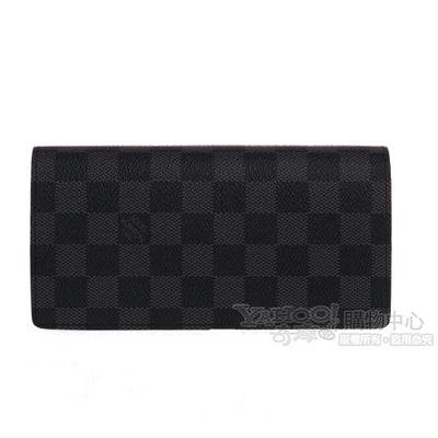 LV N62665 Damier 經典棋盤格長夾