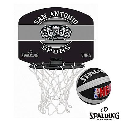 SPALDING 斯伯丁 NBA 隊徽 小籃板 馬刺 Spurs