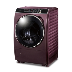 Panasonic國際牌 15公斤 洗脫烘 變頻 滾筒洗衣機 NA-V168DDH 晶燦紫