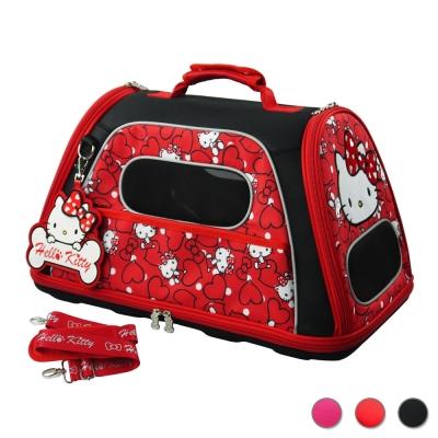 三麗鷗 HELLO KITTY 凡爾賽寵物側背箱 共3色