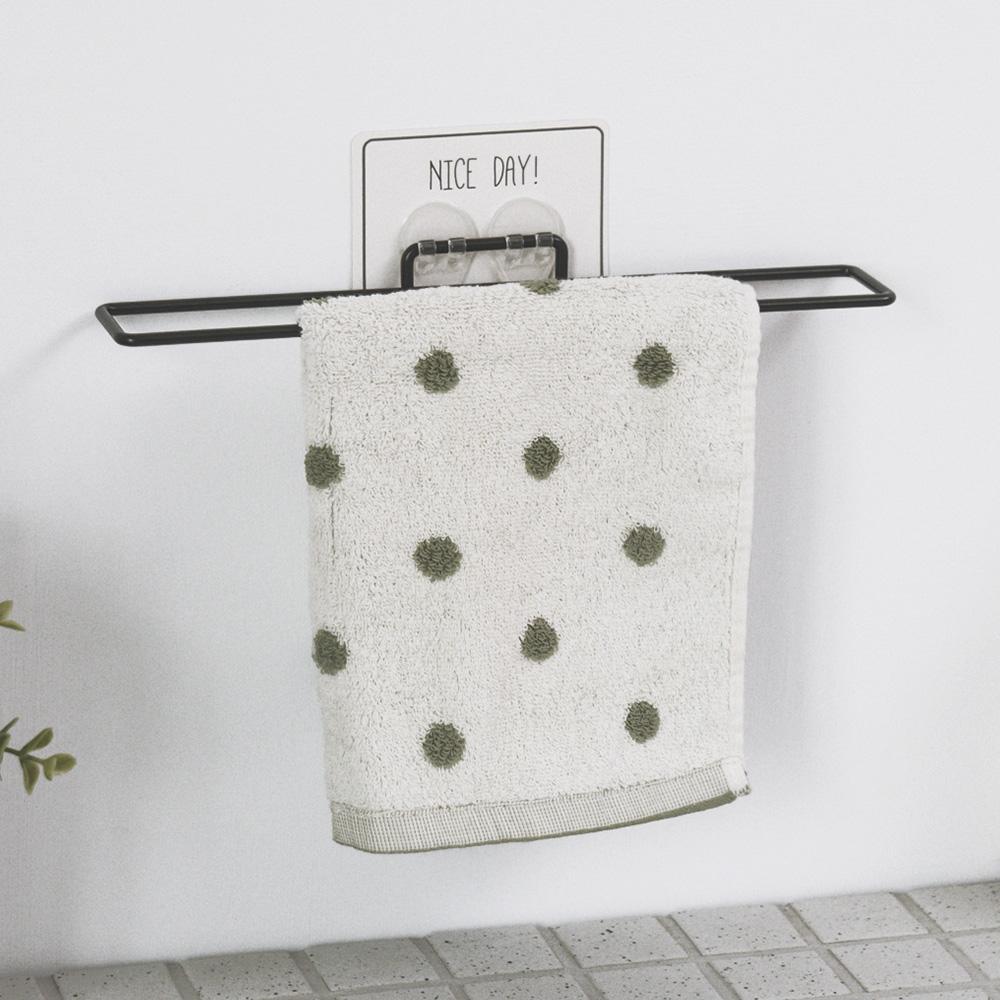 完美主義 毛巾架/掛架/烤漆/無痕貼-30x5cm