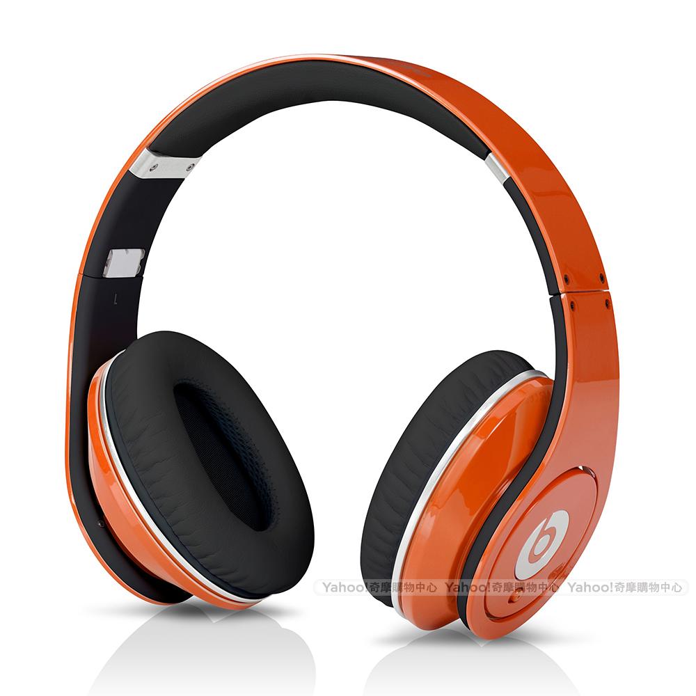 BEATS耳機 Studio 橘色 耳罩耳機 beats by dr.dre台灣代理公司貨