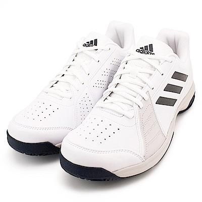 ADIDAS-APPROACH 男網球鞋-白
