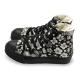 FUFA  MIT  古典花卉高筒帆布鞋  (T85) 黑花 product thumbnail 1