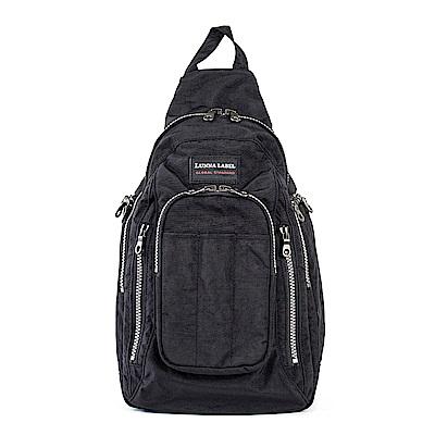 YESON - 超大容量流行側背包-MG-7216-黑