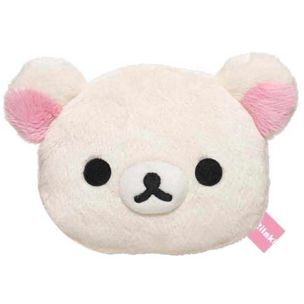 拉拉熊可愛保暖系列大頭長毛絨暖暖包。懶妹