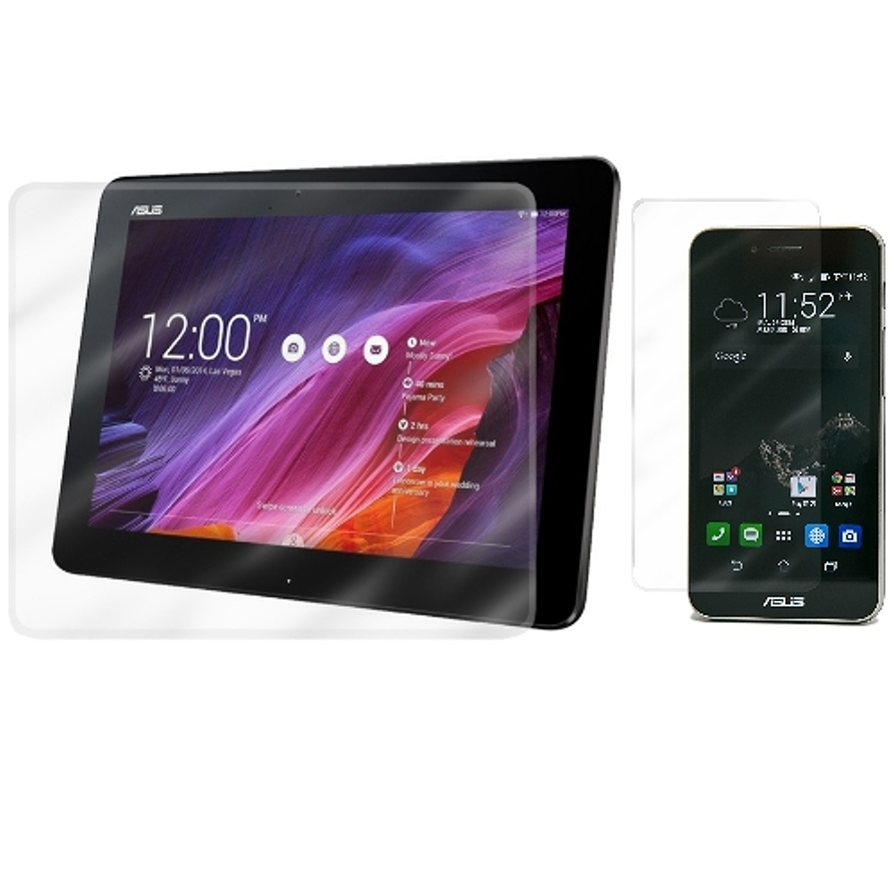 D&A ASUS PadFone S 平板+手機日本原膜HC螢幕保護貼(鏡面抗刮) product image 1