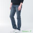 bossini男裝-修身牛仔長褲03深靛藍
