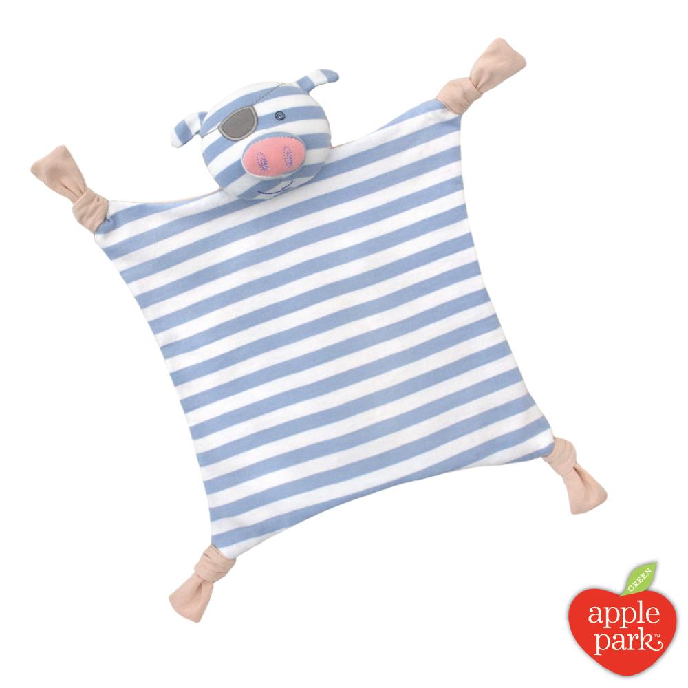 【美國 Apple Park】農場好朋友系列 安撫巾 - 海盜小豬