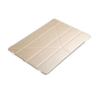 2017 Apple iPad Pro 10.5吋絲紋Y型三角折疊保護皮套