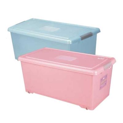 【DOLEDO】SOHO BOX附外引防蟲盒66公升-二入(藍)