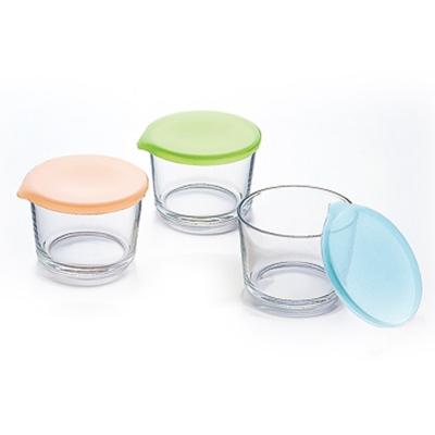【ADERIA】日本進口收納玻璃罐3件套組275ml