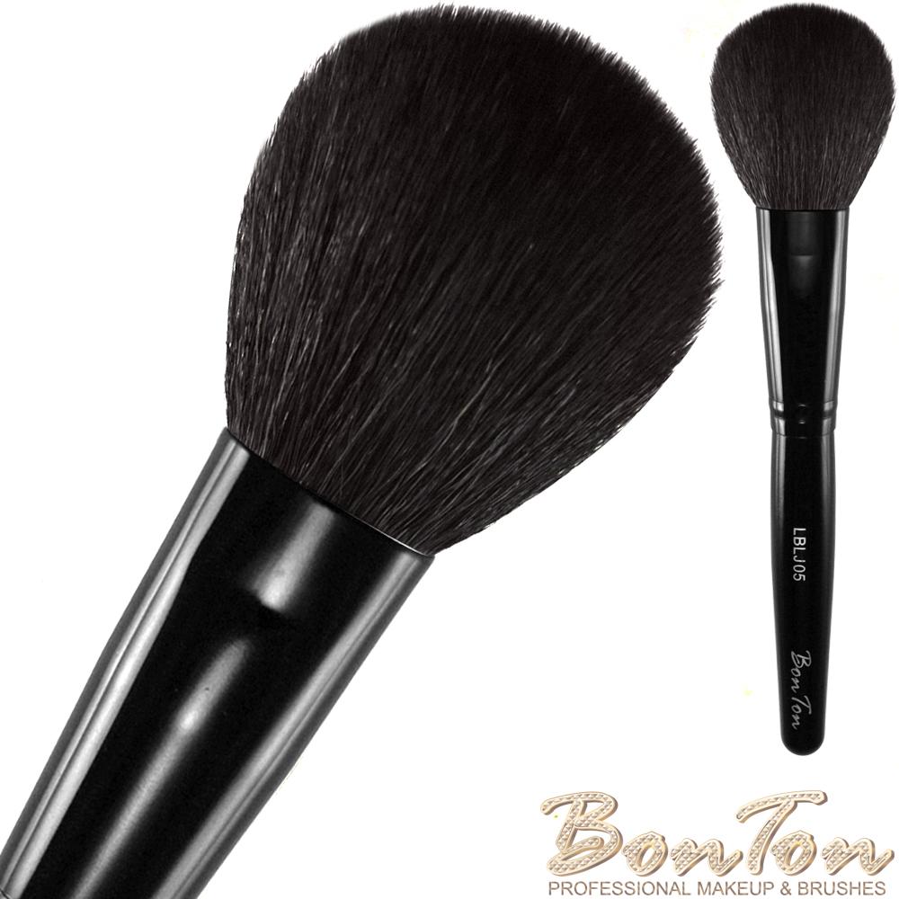 BonTon 墨黑系列 扁腮紅刷(大) LBLJ05 特級尖鋒羊毛