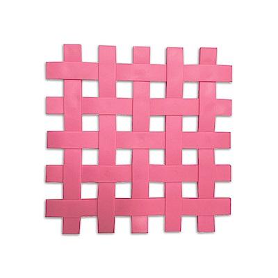 甲克虫 編織方形隔墊防燙鍋墊