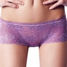 【思薇爾】溝惹火系列平口褲(藕紫色)