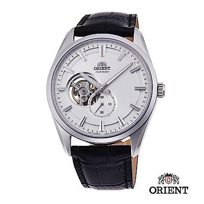 ORIENT 東方錶 SEMI-SKELETON系列 機械錶 皮帶款 白色 40.8mm