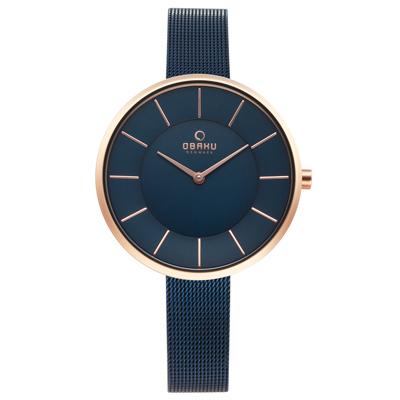 OBAKU 雅悅媛式時尚米蘭腕錶-V185LXVLML/38mm