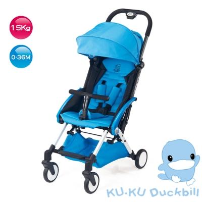 KU.KU酷咕鴨-酷咕鴨時尚輕旅行嬰兒手推車-藍(6037)