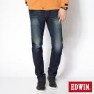 EDWIN AB褲 迦績褲JERSEYS針織3D牛仔褲-男-原藍磨