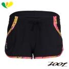 ZOOT 頂級極致冰涼感2吋綁帶式跑褲(女)(夢幻黑) Z1704011