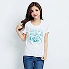 101原創 漫遊短袖T恤上衣-白