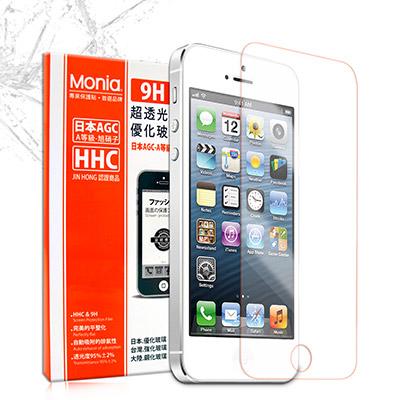 MONIA iPHONE 5 / 5S 日本頂級超透光9H鋼化玻璃膜