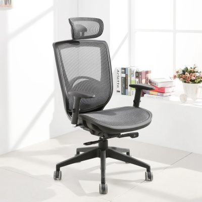 LOGIS邏爵-悍騎士專業全網電腦椅/辦公椅/主管椅