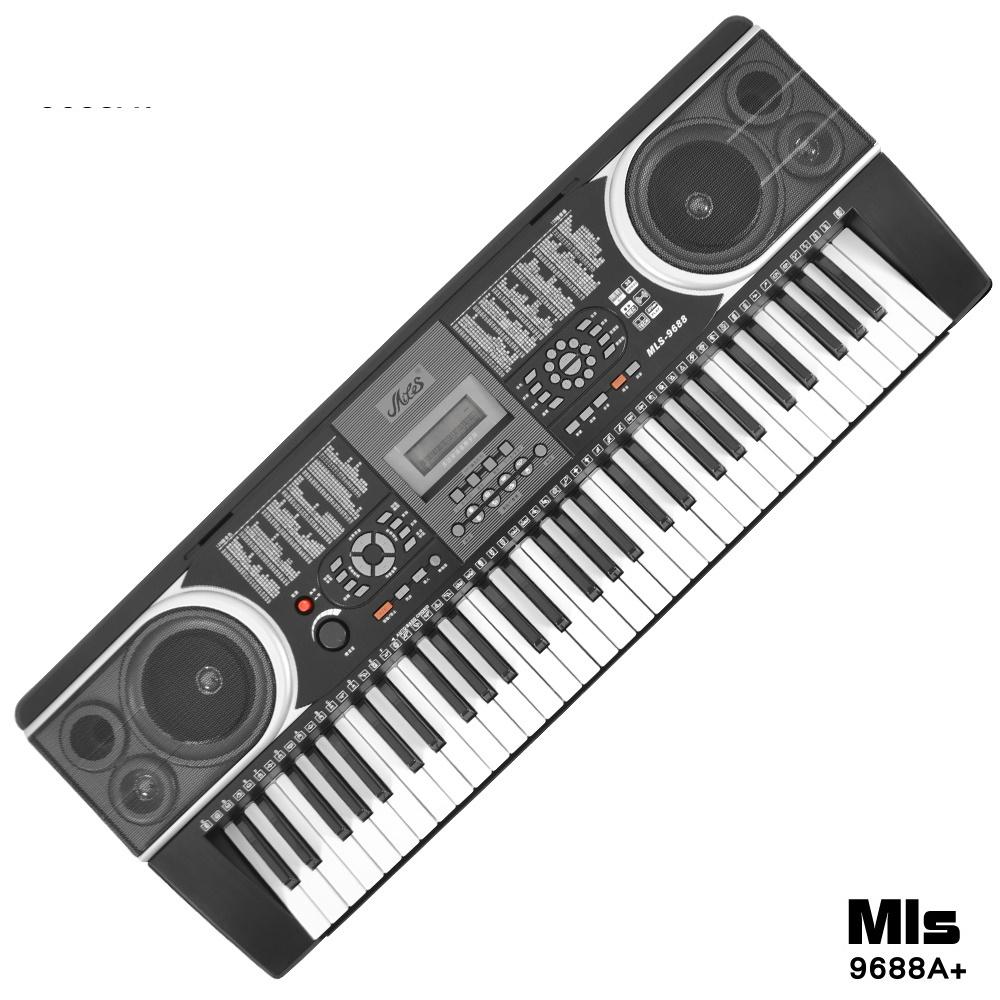 進階版專業61鍵電子琴+琴袋(MLS-9688A) @ Y!購物