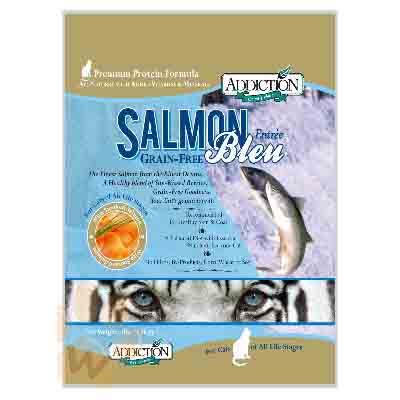 Addiction自然癮食 無穀藍鮭魚貓寵食 1.8KG 【2136】