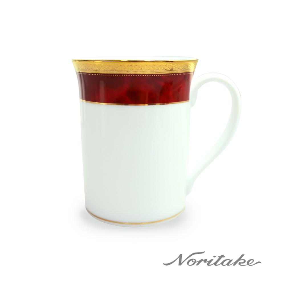 Noritake 皇家紅邊馬克杯
