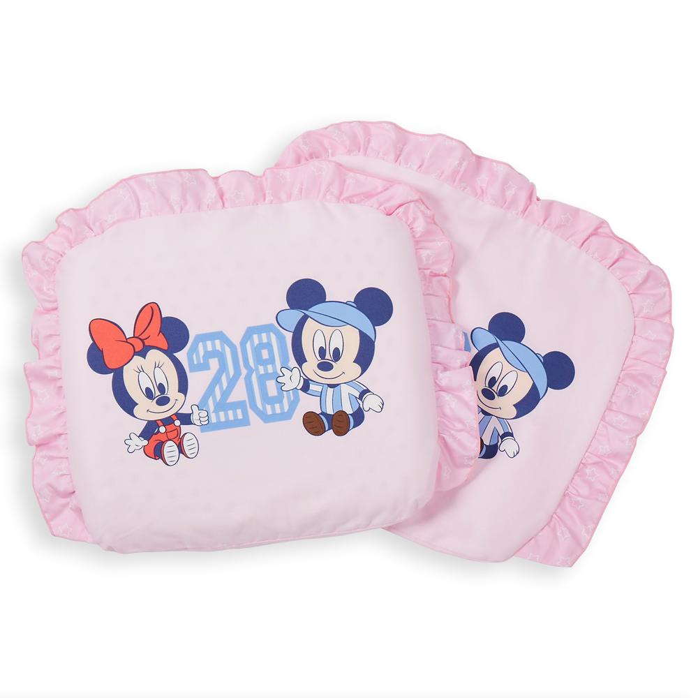迪士尼 Disney 運動米奇乳膠圓枕(粉)