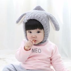 可愛小羊 長耳朵加厚護耳帽 共3色
