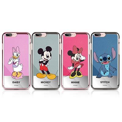 OpenBox iPhone 7 Plus 迪士尼金屬鏡面人氣手機保護殼