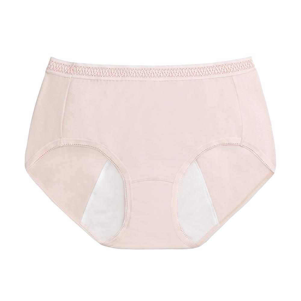 黛安芬-經典款日用生理褲內褲 M-EEL(膚)