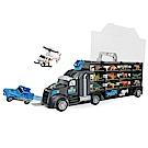 Amuzinc酷比樂 兒童玩具 恐龍世界 恐龍貨櫃車 內附6種恐龍+6種動物+2台小車