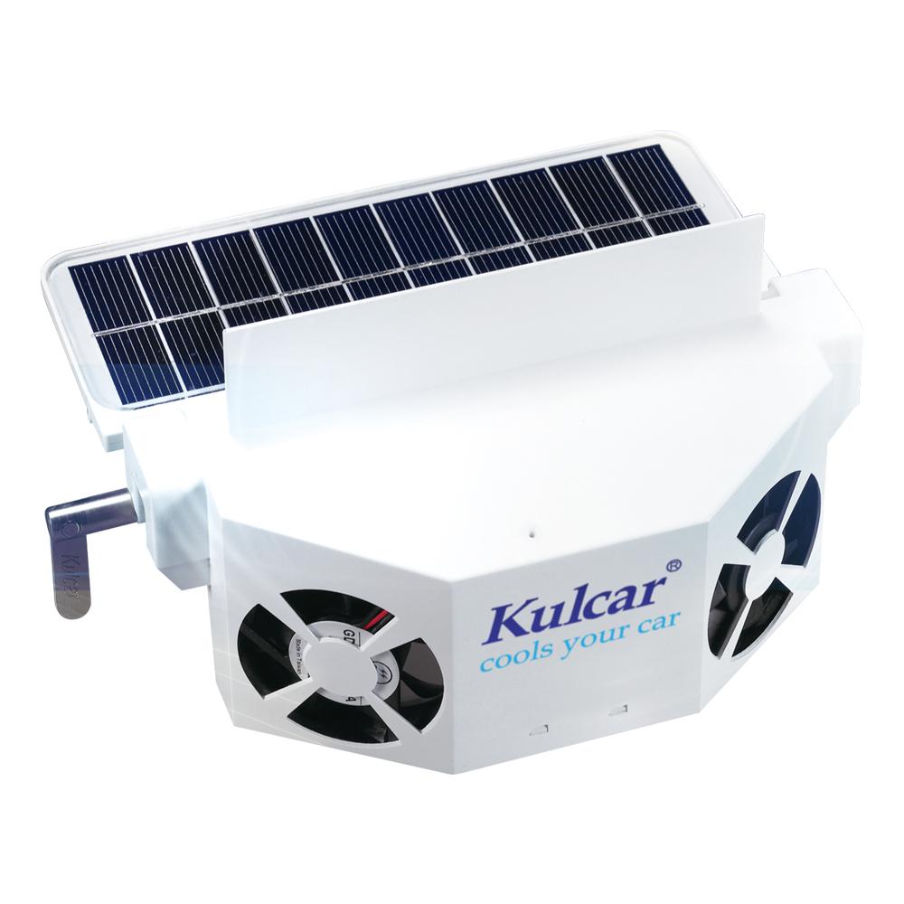 [快]新一代升級版-安伯特 Kulcar太陽能汽車散熱器(送車用吸塵器)