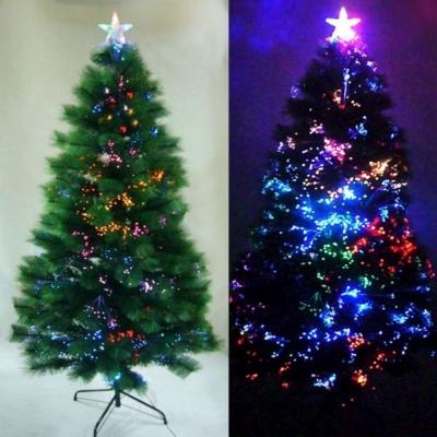 美麗多變6尺(180cm) 松針葉光纖聖誕樹