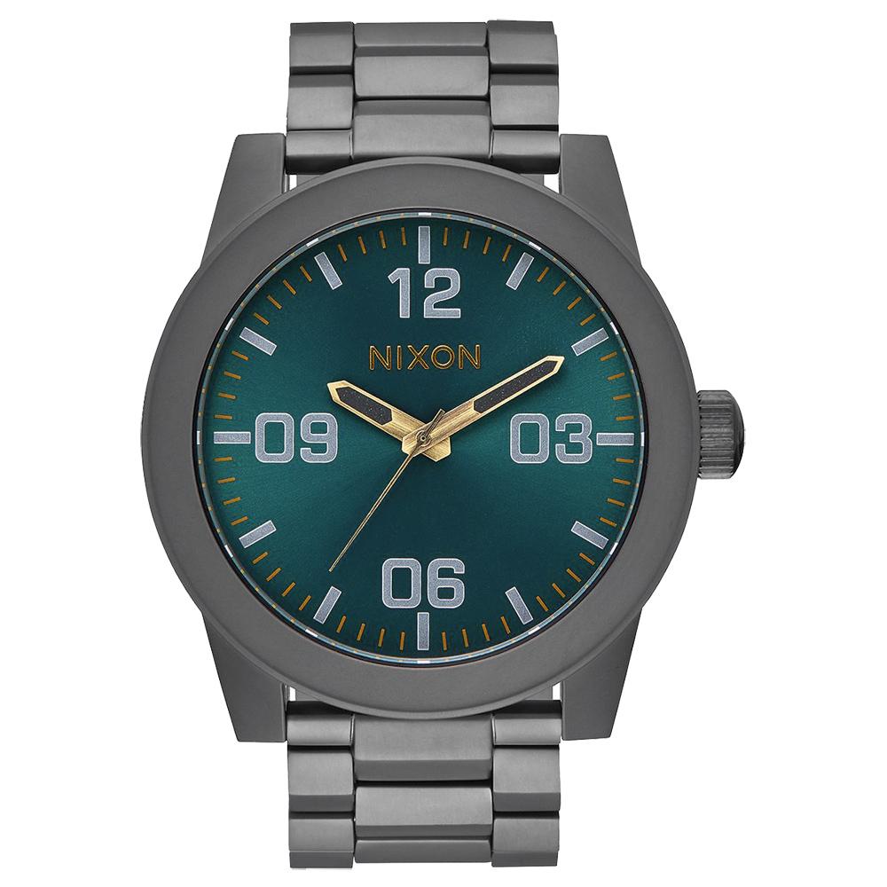 NIXON 曠野風潮時尚運動腕錶-A3462789-48mm