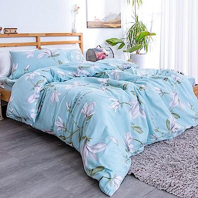 kokomos 扣扣馬 台灣製鎮瀾宮授權40支極致精梳棉雙人床包枕套三件組 綠光世界
