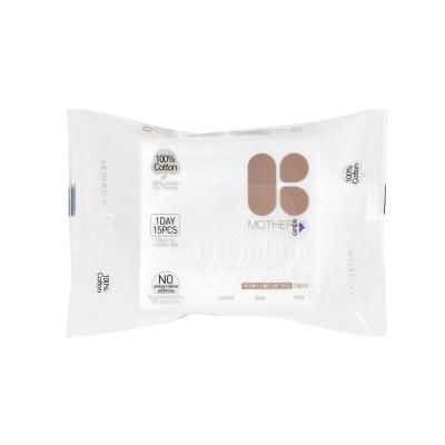 韓國MOTHER-K頂級乾濕兩用紙巾-純棉(15抽)