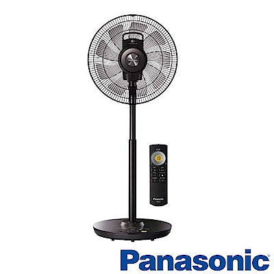 Panasonic國際牌 16吋 DC直流 遙控立扇 電風扇 F-H16EXD-K 晶鑽棕