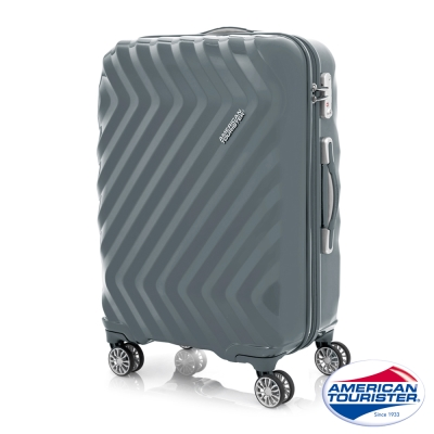 AT美國旅行者 28吋Zavis四輪飛機輪硬殼TSA行李箱(石墨灰)