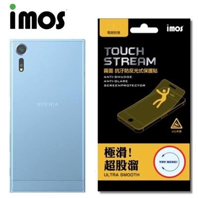 iMOS SONY Xperia XZS Touch Stream 電競 霧面背...
