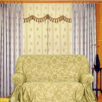布安於室-綠雅DIY1人座一片式沙發罩