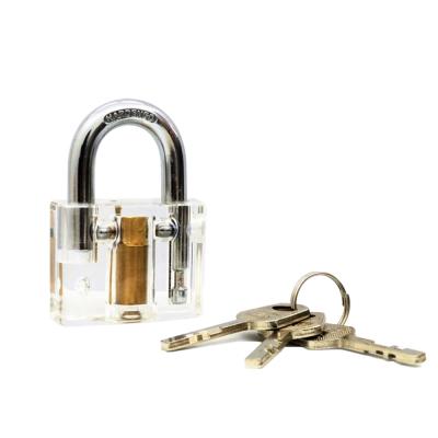 賽先生科學 鎖匠的挑戰-透明結構掛鎖(葉片式)