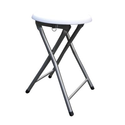Dr. DIY 木製圓形椅座折疊椅-6入/組(二色可選)