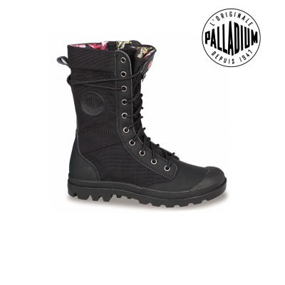 Palladium Pampa Tactical-女-黑